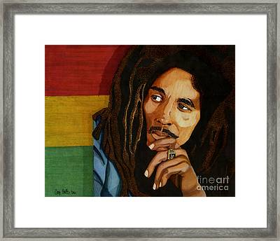 Bob Marley Legend Framed Print