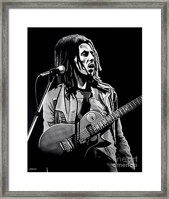 Bob Marley Tuff Gong Framed Print