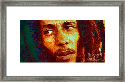Bob Marley One And Only Framed Print