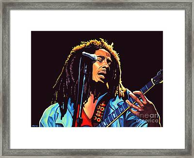 Bob Marley Framed Print by Paul Meijering