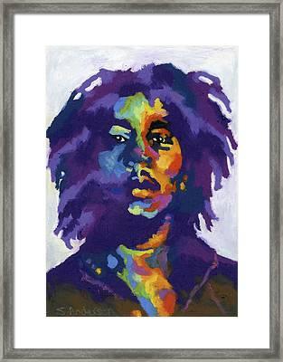 Bob Marley Framed Print by Stephen Anderson