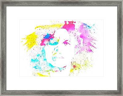 Bob Marley Watercolor Framed Print by Dan Sproul