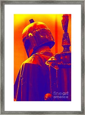 Boba Fett Costume 2 Framed Print by Micah May