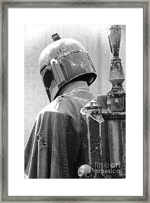 Boba Fett Costume 3 Framed Print