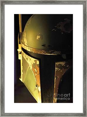 Boba Fett Helmet 124 Framed Print