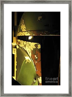 Boba Fett Helmet 138 Framed Print