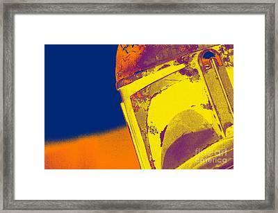 Boba Fett Helmet 21 Framed Print