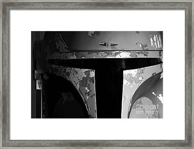 Boba Fett Helmet 29 Framed Print