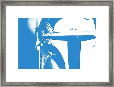 Boba Fett Helmet 3 Framed Print by Micah May