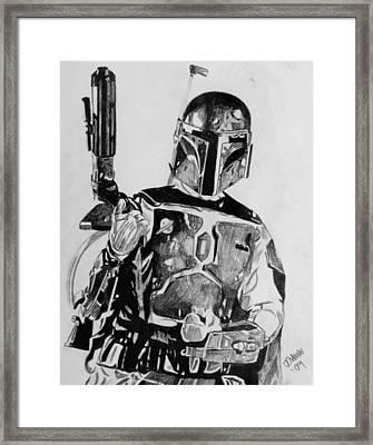 Boba Fett Framed Print by Jeremy Moore
