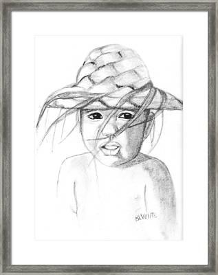 Bobby Framed Print by Brian White