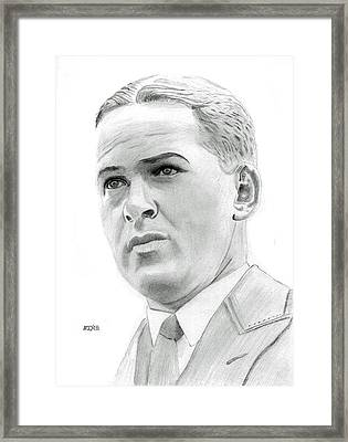 Bobby Jones Framed Print by Pat Moore