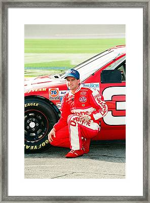 Bobby Labonte Framed Print by Retro Images Archive