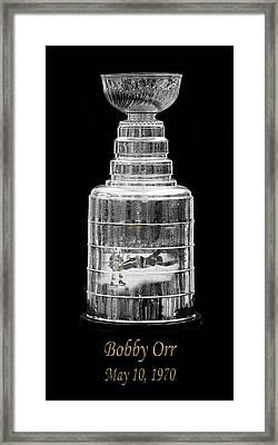 Bobby Orr 3 Framed Print