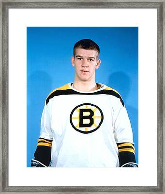 Bobby Orr Framed Print by Retro Images Archive