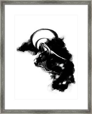 Bobcat 3 Framed Print by Len YewHeng
