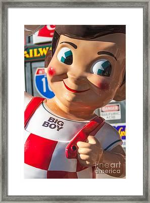 Bob's Big Boy Framed Print