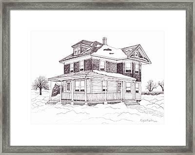 Bob's Grandparent's House Framed Print