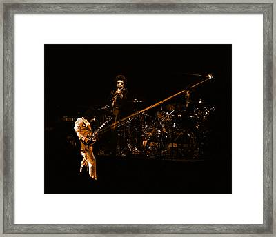 Framed Print featuring the photograph Boc #4 Lasers In Amber by Ben Upham