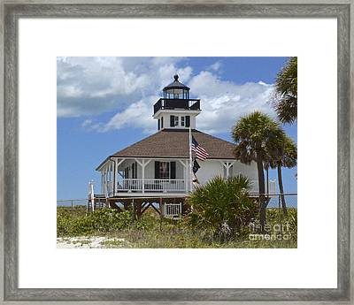 Boca Grande Lighthouse Framed Print