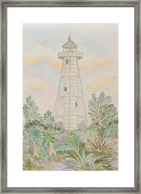 Boca Grande Lighthouse Framed Print by Nancy Taylor
