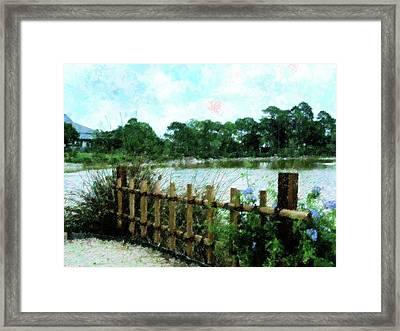 Boca Morikami Gardens Framed Print