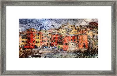 Boccadasse Framed Print by Andrea Barbieri