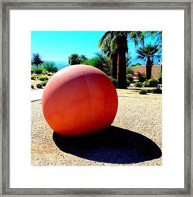 Bocci Ball 5 Framed Print