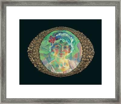 Boccioni Umberto, Portrait Of Miss Mini Framed Print by Everett