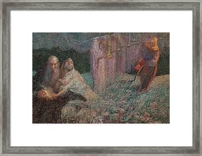 Boccioni Umberto, The Mower, 1909, 20th Framed Print by Everett