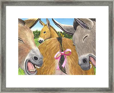 Bodacious Framed Print by Catherine G McElroy