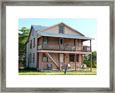 Framed Print featuring the photograph Bodden House by Amar Sheow