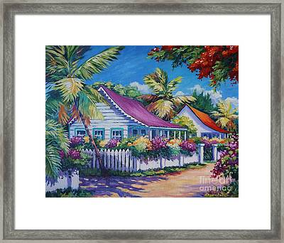 Bodden Town Colours Framed Print by John Clark