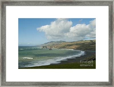 Bodega Bay California Framed Print