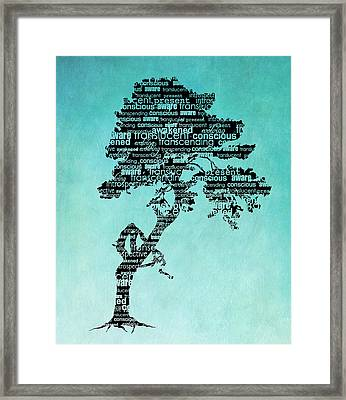 Bodhi Tree Of Awareness Framed Print