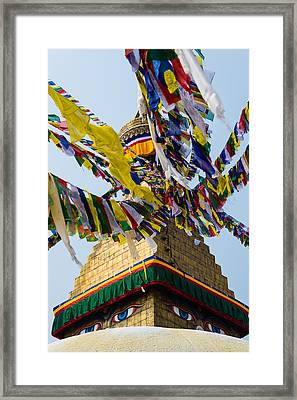 Bodhnath  Framed Print by Dutourdumonde Photography