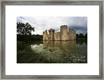 Bodiam Castle Framed Print by Heiko Koehrer-Wagner