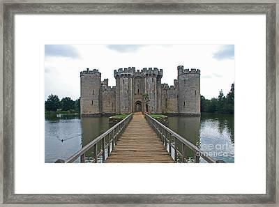 Bodiam Castle Framed Print