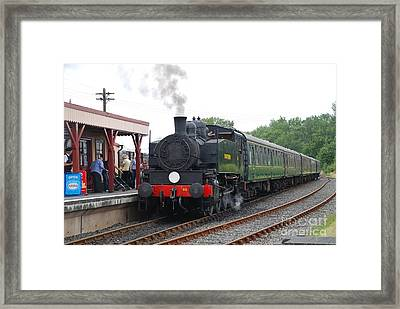Bodiam Station Framed Print