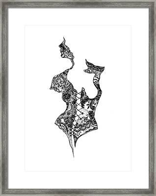 Bodice Framed Print