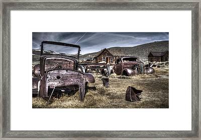 Bodie Ca Framed Print by Eduard Moldoveanu