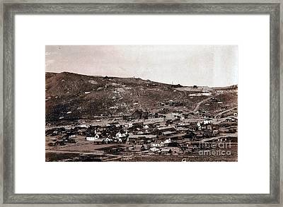 Bodie California - Ghost Town  Framed Print by Pg Reproductions