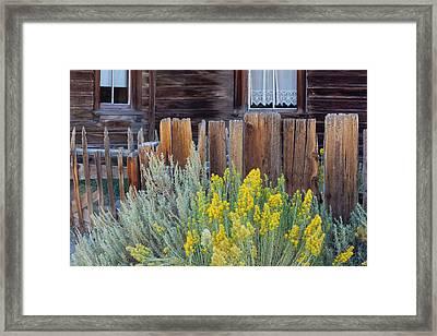 Bodie, California, Usa Framed Print