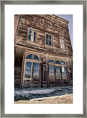 Bodie Framed Print by Cat Connor
