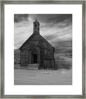 Bodie Church Framed Print by Jim Snyder