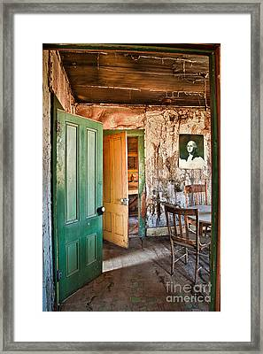 Bodie Doors Framed Print by Alice Cahill