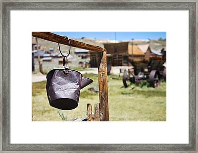 Bodie Ghost Town 2 - Old West Framed Print