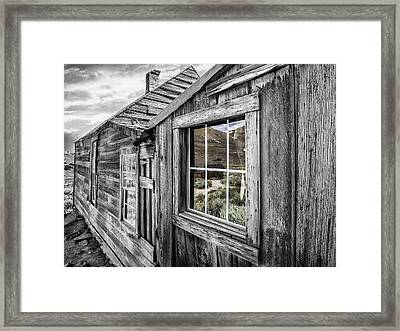 Bodie Gold Mining Ghost Town Framed Print
