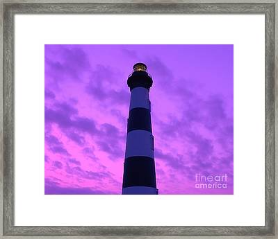 Bodie Beacon Framed Print by Al Powell Photography USA