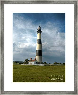 Bodie Island Lighthouse 2 Framed Print by Mel Steinhauer